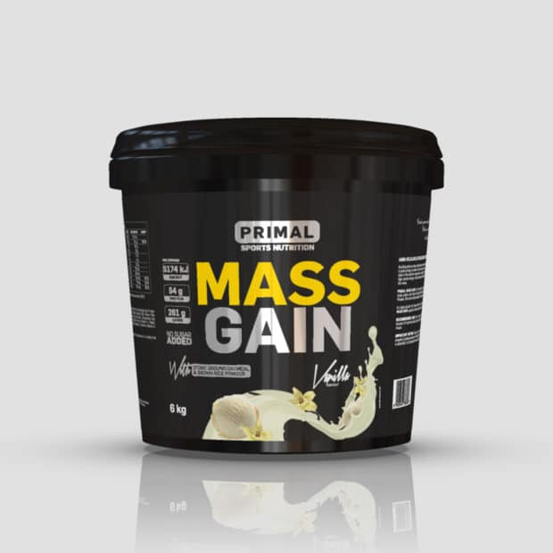 primal nutrition mass gainer vanilla