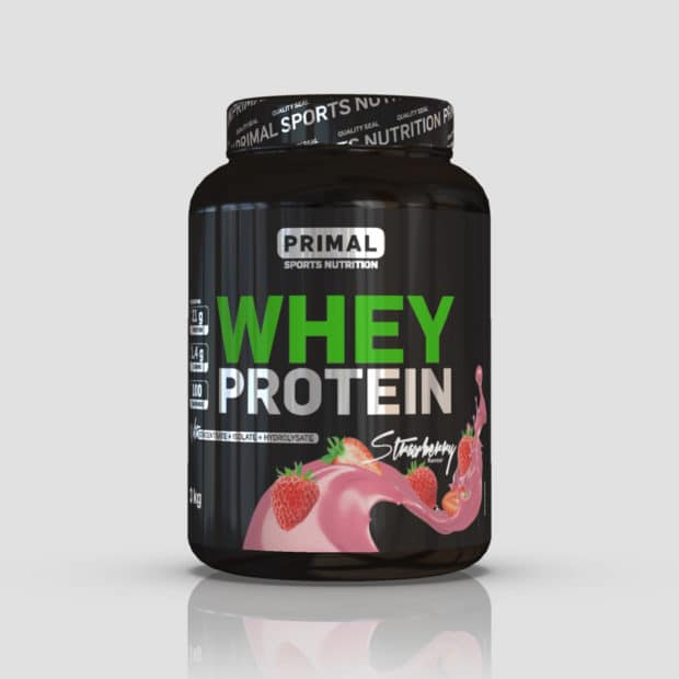 Primal nutrition strawberry whey protein