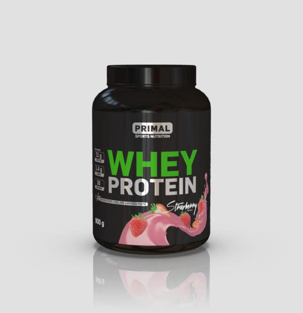 Primal Nutrition Whey protein 900g Strawberry