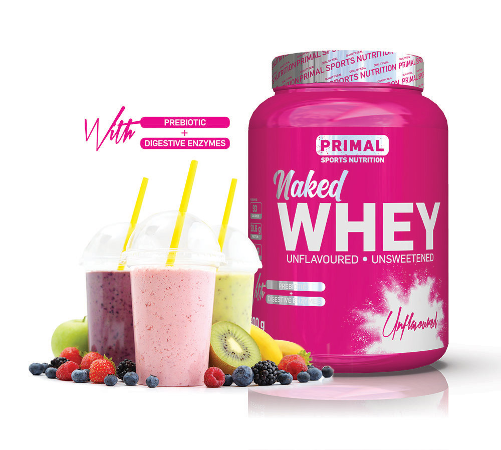 Primal Whey smoothie
