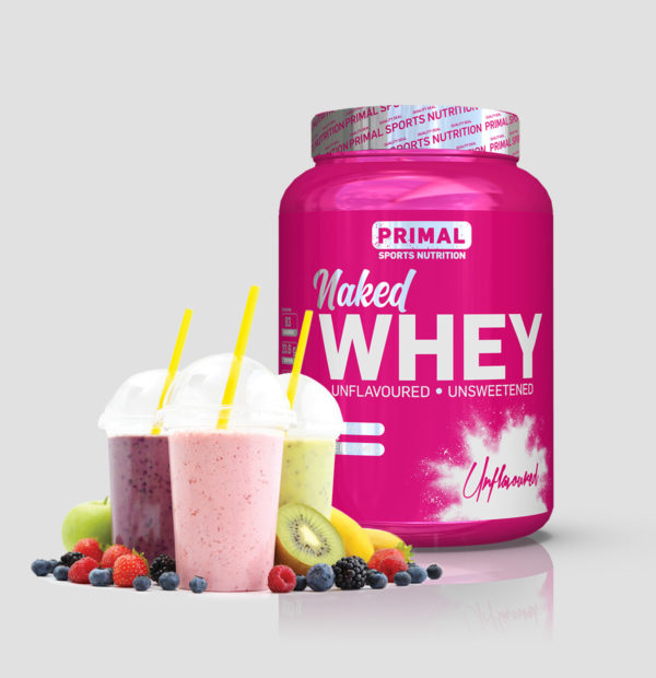 Primal Naked Whey smoothie