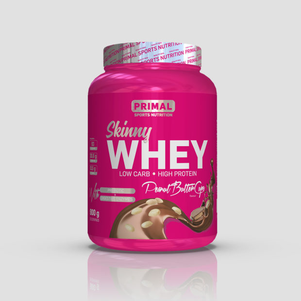Skinny whey peanut butter